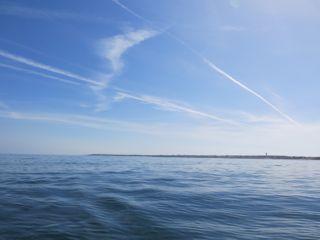 L'île d'Yeu de loin.