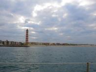 Phare et plage d'Aveiro