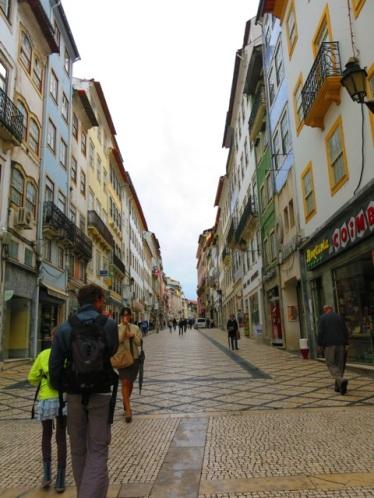 Une rue à Coimbra
