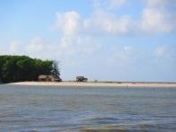 Au calme une fois le banc de sable passé.