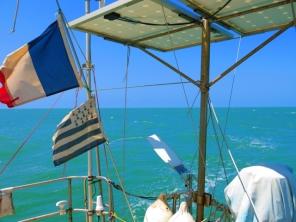 La mer a changé de couleur...