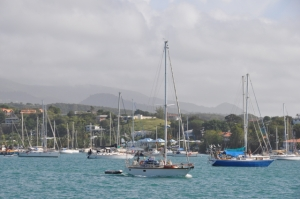 Départ de Prickly Bay à Grenade