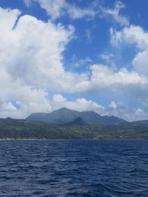 St Pierre et la Montagne Pelée en Martinique
