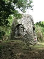 Reste d'un moulin à sucre