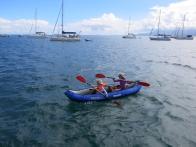 Opération kayak !