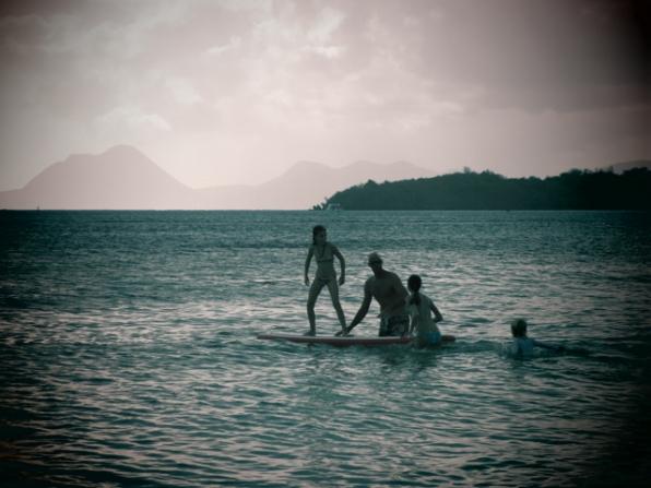 Amusements entre amis de bateau