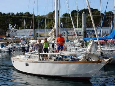 Départ de Groix le 1 août au matin.