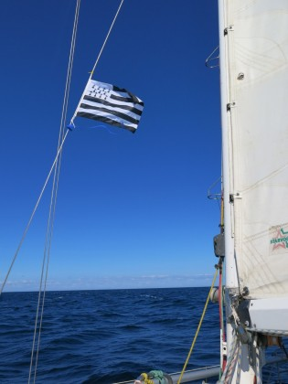 Grand bleu sur la Bretagne